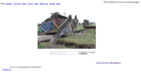 Old bridge collapsed homepage